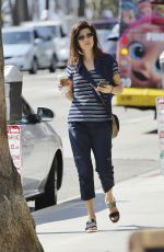 DAPHNE ZUNIGA Out and About in Los Angeles 09/04/2016