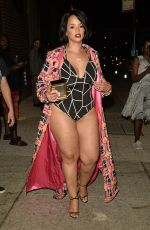 DASCHA POLANCO at Blonds Fashion Show in New York 09/11/2016