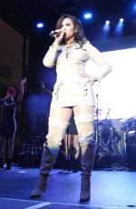 DEM LOVATO Performs at a Concert for Marriott Rewards Members 09/22/2016