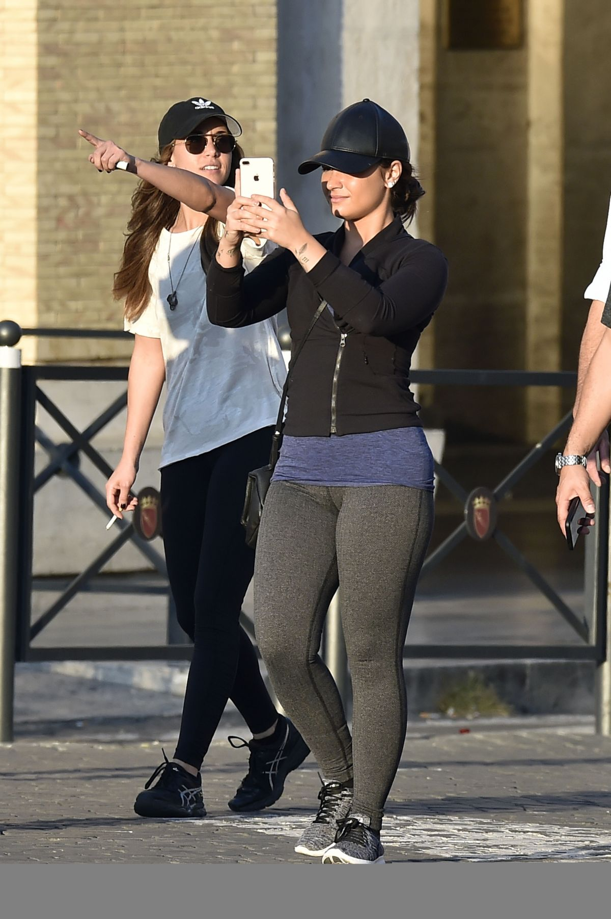 DEMI LOVATO Out and About in Rome 09/29/2016