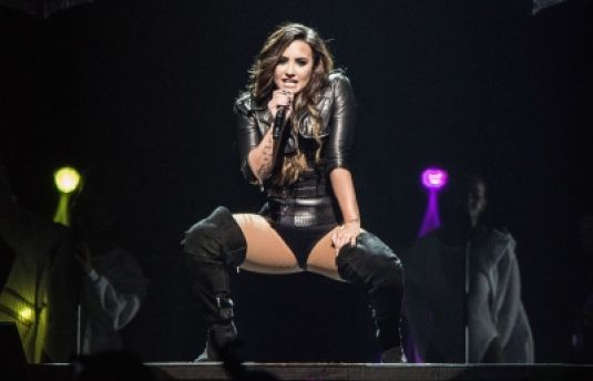 DEMI LOVATO Performs at a Concert in Los Angeles 09/17/2016