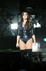 DEMI LOVATO Performs at Grandstand at Minesota State Fair 08/31/2016