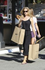 DENISE RICHARDS Out Shopping in Los Angeles 08/31/2016