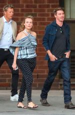 DIANE KRUGER and Garrett Hedlund Out for Dinner in New York 09/12/2016