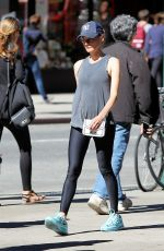 DIANE KRUGER Heading to a Gym in New York 09/24/2016