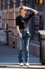 DIANE KRUGER in Jeans Out in New York 09/13/2016