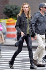 DIANE KRUGER Out and About in New York 09/21/2016