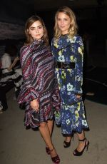 DIANNA AGRON at Erdem Fashion Show at London Fashion Week 09/19/2016