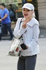 DOVE CAMERON Heading to a Yoga Class in Vancouver 09/09/2016