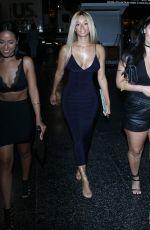 DRAYA MICHELE Goes Blonde at OHM Nightclub in Los Angeles 09/05/2016