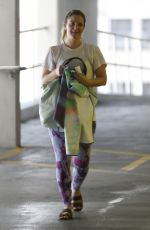 DREW BARRYMORE Leaves Yoga Class in Hollywood 09/03/2016
