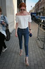 ELEANOR TOMLINSON at BBC Radio One Studios in London 08/31/2016