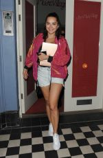 ELENA ORA Leaves a Studio in London 09/14/2016