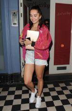 ELENA ORA Leaves a Studio in London 09/14/2016