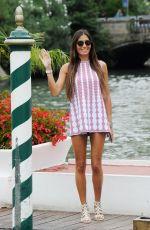 ELISABETTA GREGOARCI Arrives at Excelsior Hotel in Venice 09/05/2016