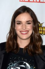 ELIZABETH HENSTRIDGE at 'Agents of S.H.I.E.L.D.' Season 4 Premiere in Los Angeles 09/19/2016
