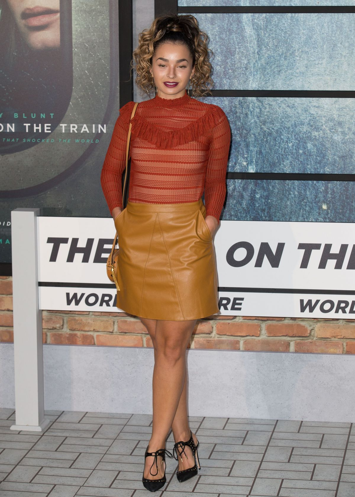 ELLA EYRE at 'The Girl on the Train' Premiere in London 09/20/2016