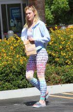 ELLE FANNING Leaves a Pharmacy in Los Angeles 09/09/2016