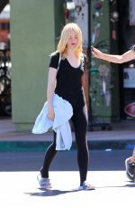 ELLE FANNING Out and About in Studio City 09/11/2016