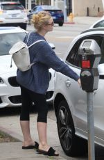 ELLE FANNING Out and About in Studio City 09/22/2016