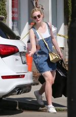 ELLE FANNING Out Shopping in West Hollywood 09/07/2016