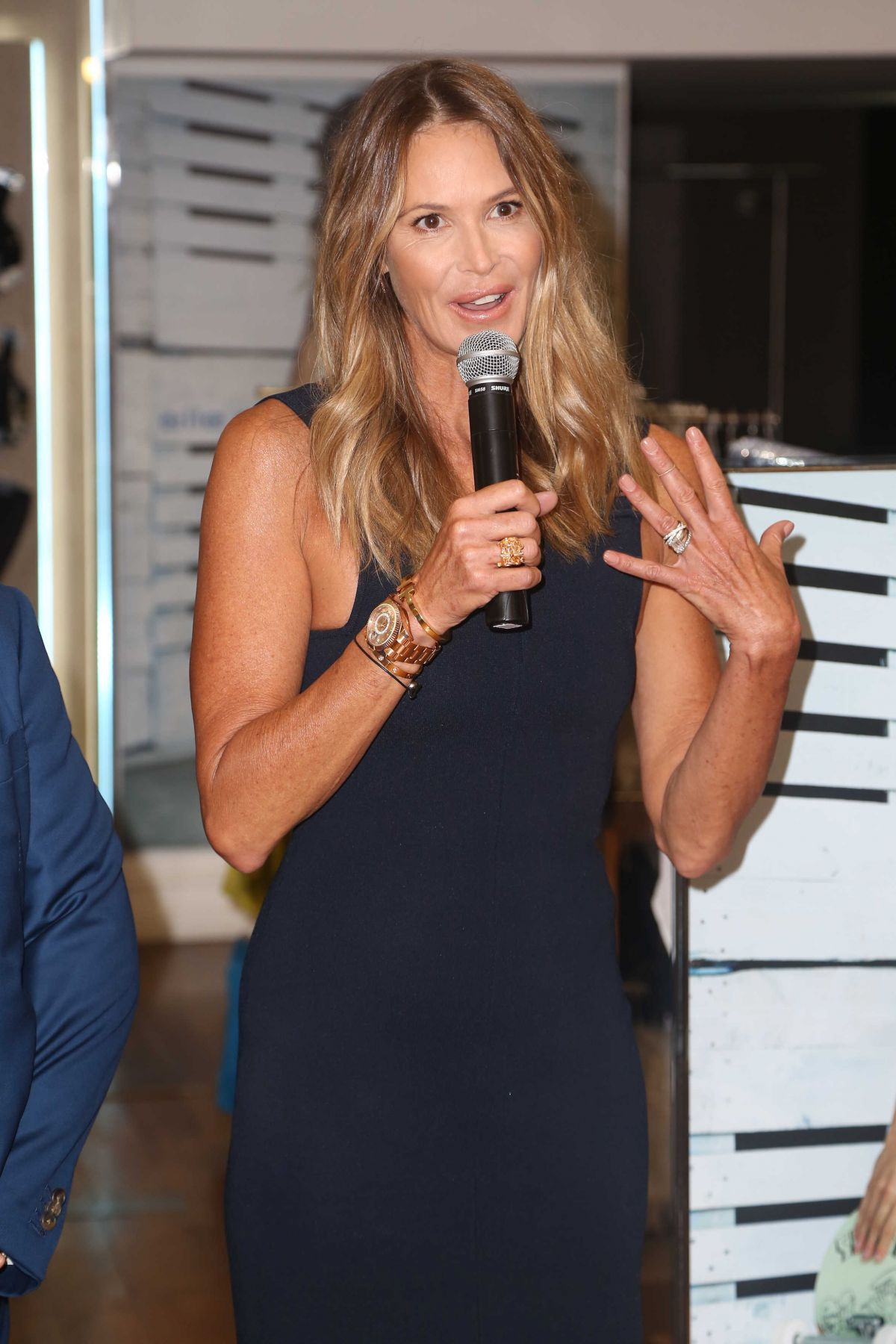 ELLE MACPHERSON at Launch of New Lingerie Line in Sydney