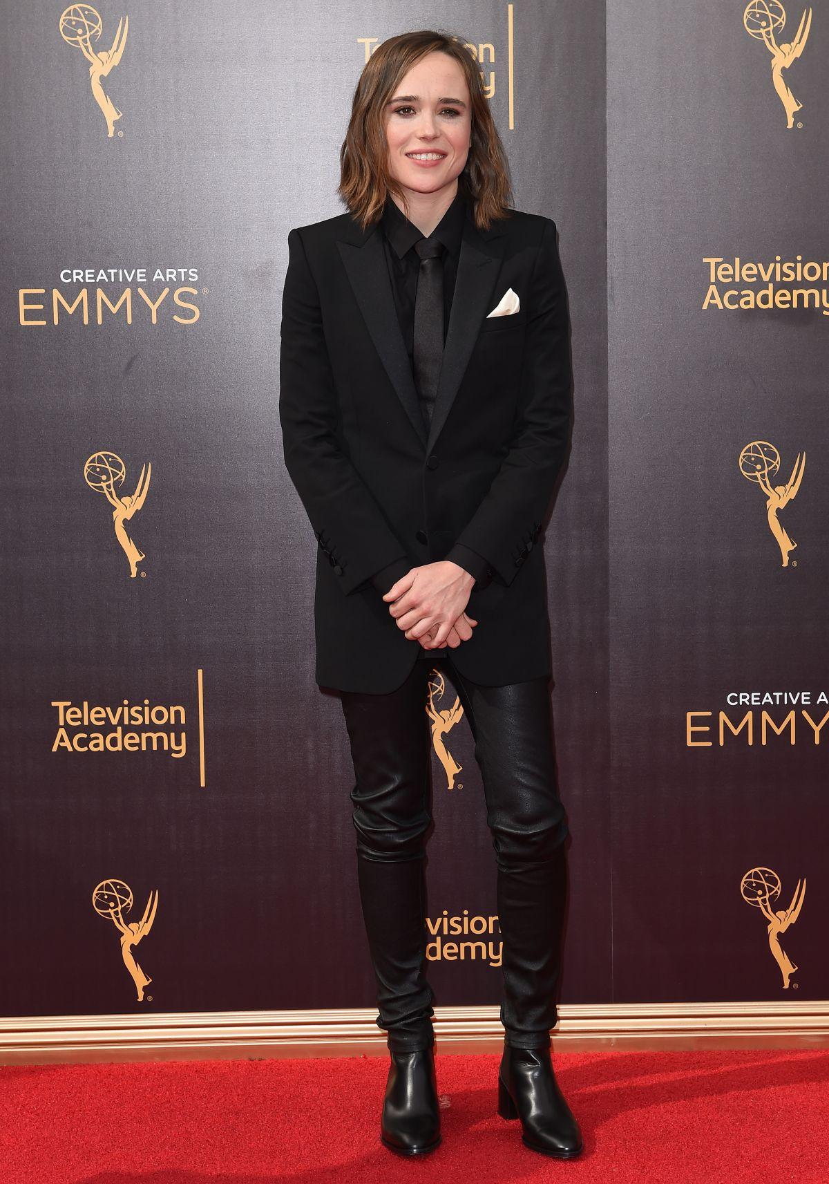ELLEN PAGE at 2016 Creative Arts Emmy Awards in Los Angeles 09/11/2016