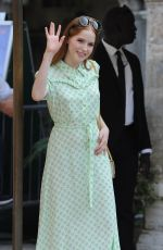 ELLIE BAMBER Arrives at Lido in Venice 09/03/2016