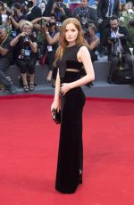 ELLIE BAMBER at 'Franca: Chaos and Creation' Premiere at 2016 Venice Film Festival 09/02/2016