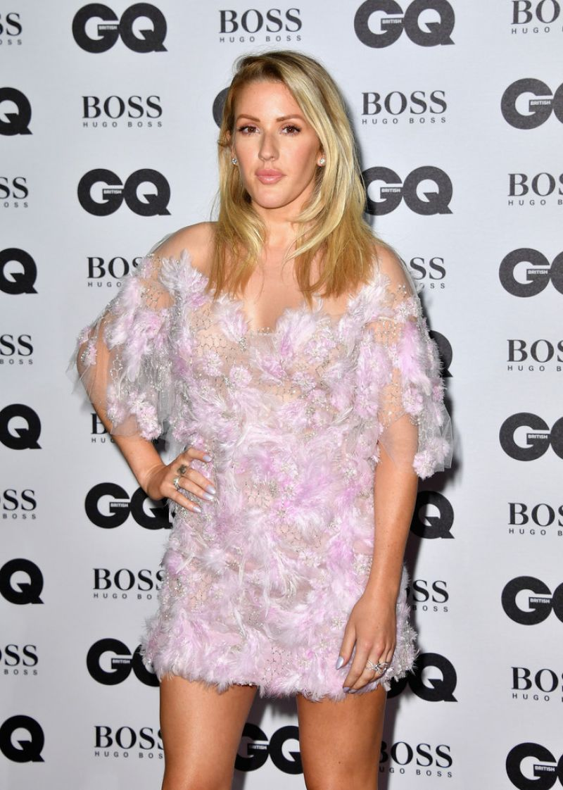 ELLIE GOULDING at GQ Men of the Year Awards 2016 in London 09/06/2016