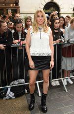 ELLIE GOULDING at Topshop Unique Fashion Show at London Fashion Week 09/18/2016