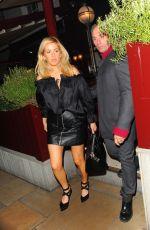 ELLIE GOULDING in Black Skirt at Lou Lou