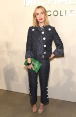 EMILY BLUNT at Michael Kors Fashion Show in New York 09/14/2016