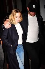 EMILY BLUNT Night Out in New York 09/26/2016