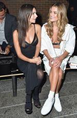 EMILY RATAJKOWSKI and NINA AGDAL at DKNY Fashion Show at New York Fashion 09/12/2016