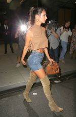 EMILY RATAJKOWSKI Leaves Her Hotel in New York 09/08/2016