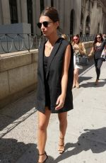 EMILY RATAJKOWSKI Out and About at New York Fashion Week 09/13/2016