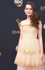 EMILY ROBINSON at 68th Annual Primetime Emmy Awards in Los Angeles 09/18/2016