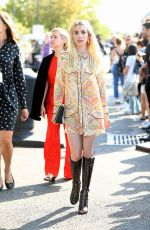 EMMA ROBERTS at Coach 1941 Fashion Show at NYFW in New York 09/13/2016