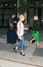 EMMA ROBERTS Leaves Her Hotel in New York 09/14/2016