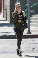 EMMA ROBERTS Out and About in West Hollywood 09/10/2016