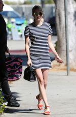 EMMA ROBERTS Out and About in West Hollywood 09/17/2016