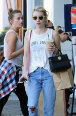 EMMA ROBERTS Out in Los Angeles 09/23/2016