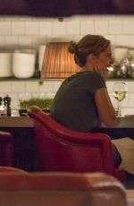 EMMA WATSON and Daniel Bruhl Out for Dinner in Berlin 09/02/2016