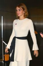 EMMA WATSON Arrives at Heforshe 2nd Anniversary Reception in New York 09/20/2016