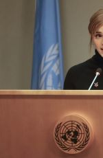 EMMA WATSON at United Nations Heforshe Impact Report in New York 09/20/2016