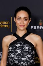 EMMY ROSSUM at Cocktail Reception for Television Academy