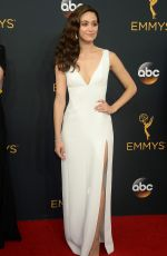 EMY ROSSUM at 68th Annual Primetime Emmy Awards in Los Angeles 09/18/2016