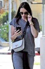 ERICA PARKER Out and About in Beverly Hills 09/07/2016