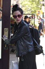 EVA GREEN Arrives at Her Hotel in New York 09/25/2016